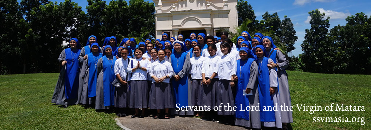 profession of first vows 2017 on the Solemnity of Assumption
