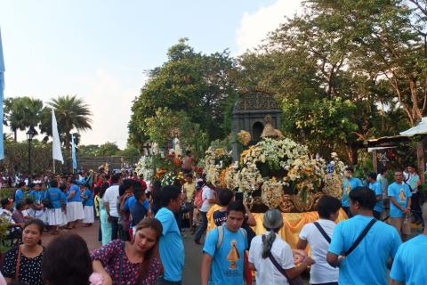 """Our Lady of Lujan is """"no. 27"""" in the Procession"""