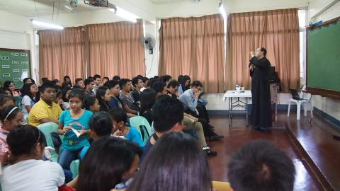 Conference given by Fr. Santiago on vocation