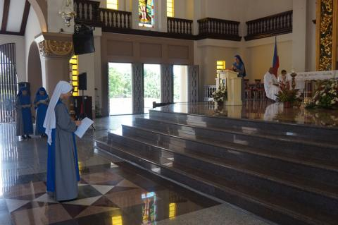 Provincial Superior accepted the sister with temporal profession