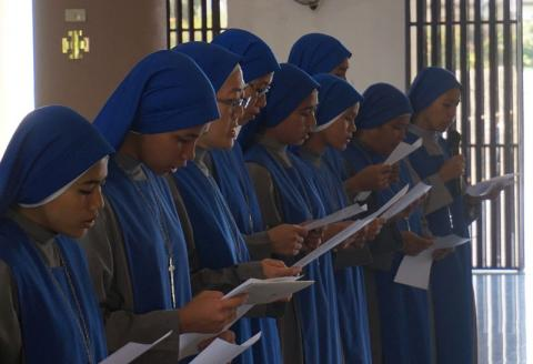 10 sisters renewed their temporal vows during the ceremony