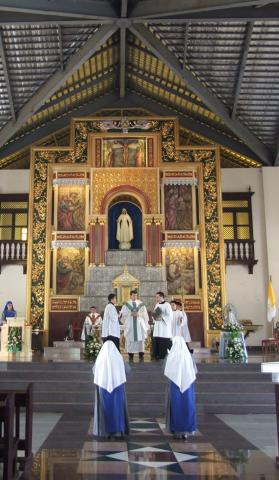 Mass of First Vows Profession