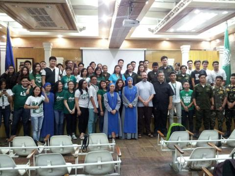 after the conference of persecuted Christians by Fr. Montes and Sr. Guadalupe in Philippines