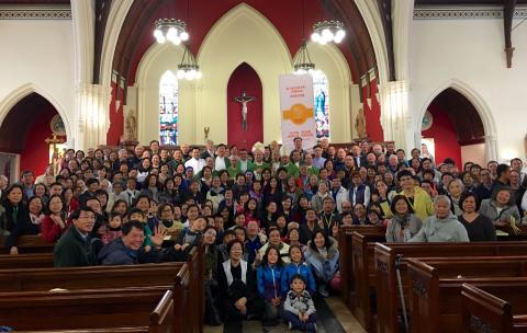 participants of 6th Worldwide Overseas Chinese Pastoral and Evangelization Convention