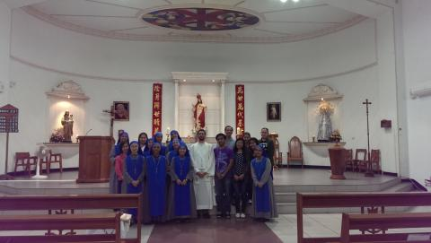 Mass Celebration at Taiwan - Group picture