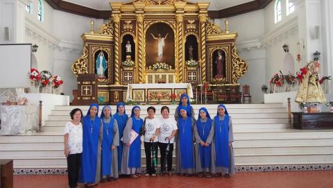 Juniorate sisters had a chance to visit many churches with more than 400 years history