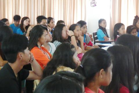 participants paying attention in the conference