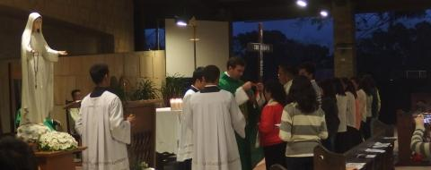 11 lay people were admitted to our Third Order (Secular) of our Religious Family in the Holy Mass