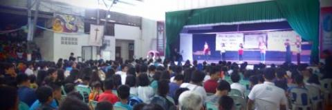 More than 600 youth coming from different parts of the Philippines attended our IVE Youth Day 2017